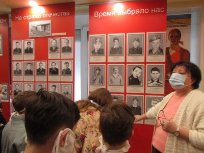 Воспитанники посетили музей перед Рождеством.