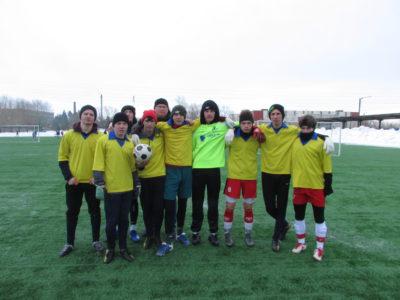 Игра в футбол оказалась успешной.