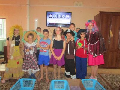 Состоялся конкурс «Мистер и мисс лагерь».